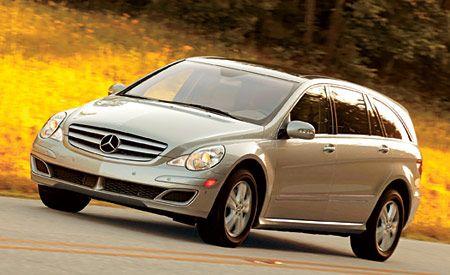 Mercedes Benz R Class First Drive Review Reviews Car