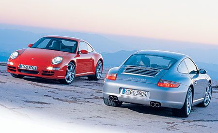 Porsche 911 Carrera 4 and 4S