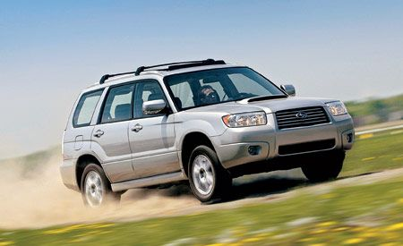 2011 Subaru Forester 25x Touring Road Test Review Car And Driver