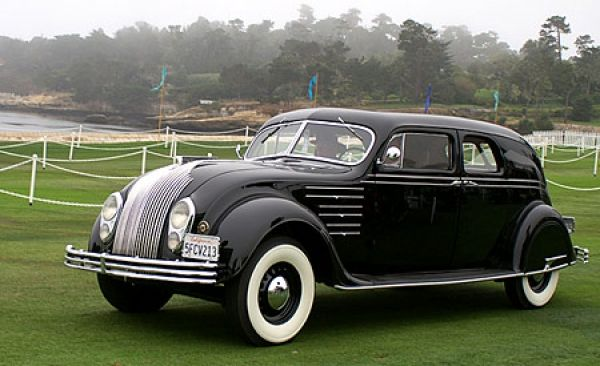 1934 Chrysler Cx Lebaron Custom Imperial Airflow Town Sedan Auto