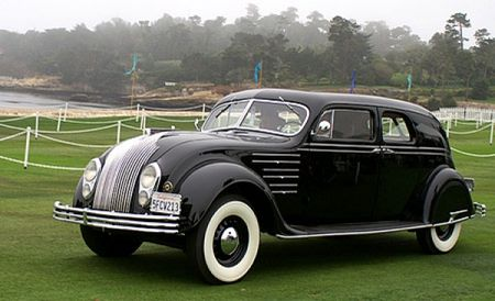 1934 Chrysler CX LeBaron Custom Imperial Airflow Town Sedan