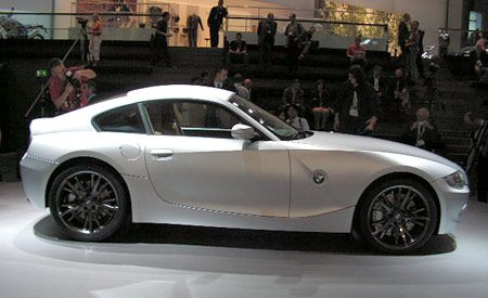 bmw z4 coupe concept. Black Bedroom Furniture Sets. Home Design Ideas