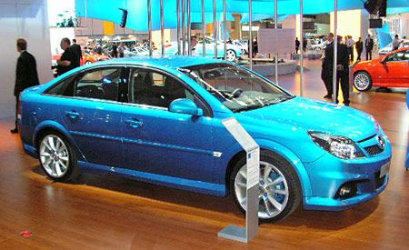 Opel Vectra Opc Auto Shows News Car And Driver