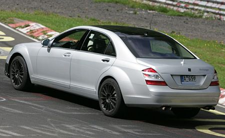 Mercedes-Benz S63 AMG?