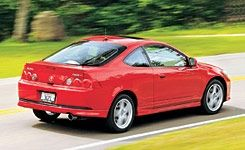Acura RSX TypeS Comparison Tests Comparisons Car And Driver - Acura rsx quarter mile
