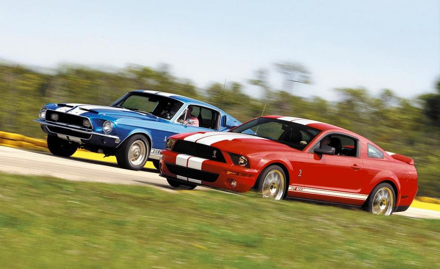 1968 Shelby GT500 and 2007 Ford Mustang Shelby Cobra GT500 - Slide 1