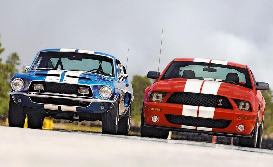 1968 Shelby GT500 and 2007 Ford Mustang Shelby Cobra GT500 - Slide 2