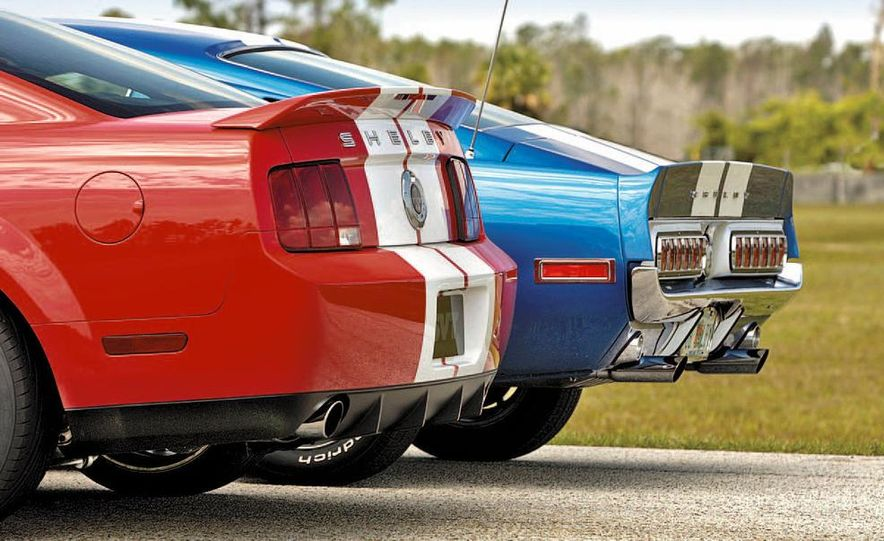 1968 Shelby GT500 and 2007 Ford Mustang Shelby Cobra GT500 - Slide 3