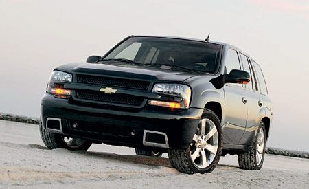 Chevrolet Trailblazer Ss Mini Test Road Test Reviews Car And