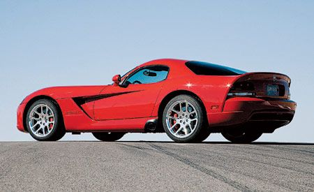 Dodge Viper SRT10 Coupe | Instrumented Test | Reviews | Car and Driver