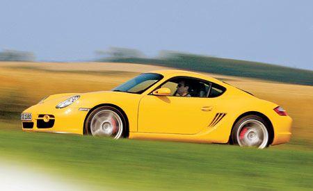 Porsche cayman s specifications