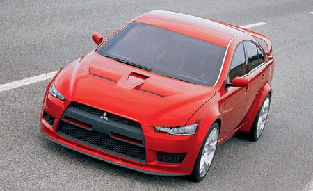 Mitsubishi's Concept X Could Be the Next Evo
