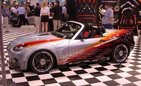 Troy Lee Designs Mazda MX-5
