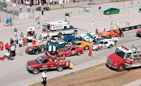 Vintage Racing Takes a Big Hit