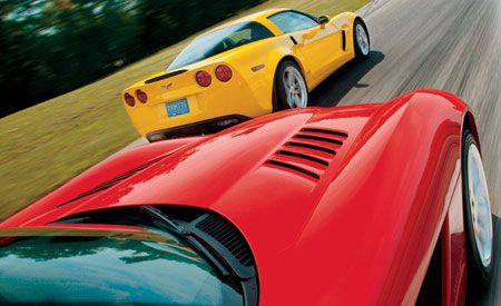 2006 Chevrolet Corvette Z06 vs. 2006 Dodge Viper SRT10