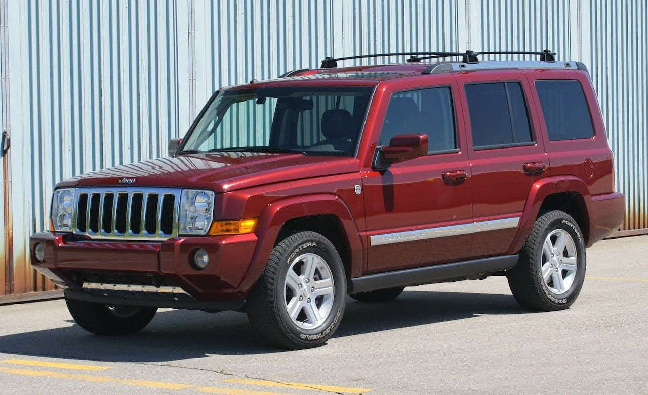 2006 jeep commander limited 4x4 rh caranddriver com 2006 jeep commander limited user manual 2006 jeep commander owners manual download free