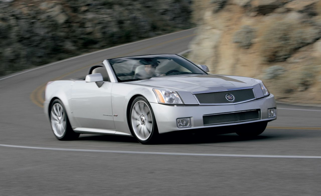 2006 cadillac xlr v instrumented test car and driver rh caranddriver com 2005 Cadillac XLR Parts Cadillac XLR Parts Catalog