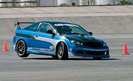 Acura RSX Challenge Feature Car And Driver - Acura rsx quarter mile