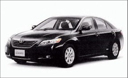 2007 Camry Uncovered