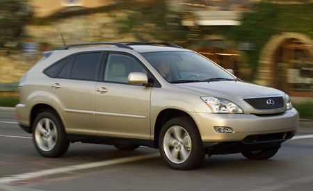 Lexus Recalls Some RX330 SUVs
