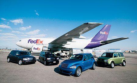 2006 Chevrolet HHR LT vs. Chrysler PT Cruiser GT, Honda Element EX-P, Scion xB