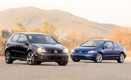 2006 Honda Civic Si vs. Volkswagen GTI