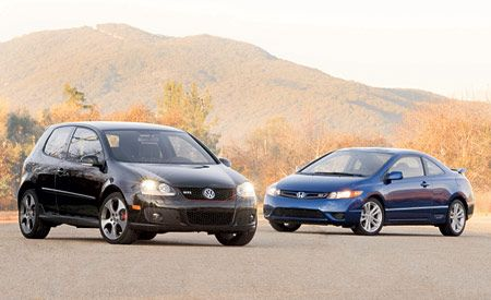 2006 Honda Civic Si vs. Volkswagen GTI