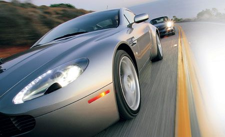 Aston Martin V Vantage - 2006 aston martin vantage