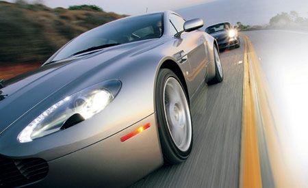 Aston Martin V-8 Vantage vs. Porsche 911 Carrera S