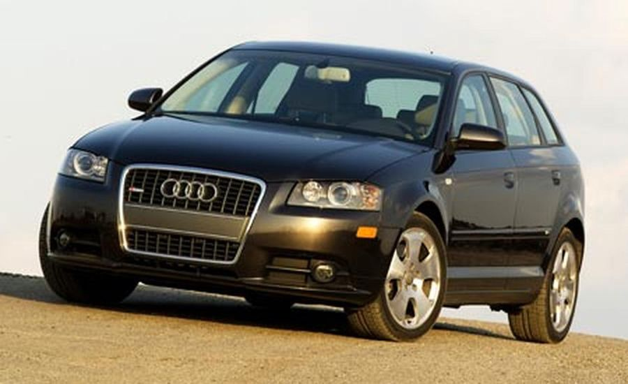 2006 audi a3 3 2 quattro s line instrumented test car and driver. Black Bedroom Furniture Sets. Home Design Ideas