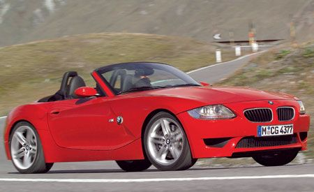 2006 Bmw Z4 M Roadster First Drive Review Reviews