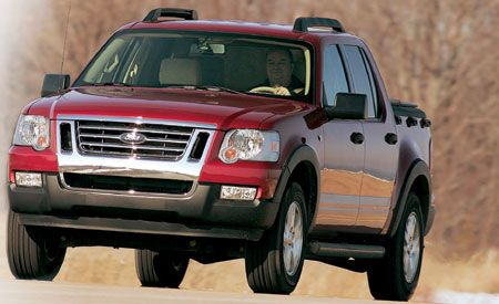 2007 ford explorer sport trac xlt v 8 4x4. Black Bedroom Furniture Sets. Home Design Ideas