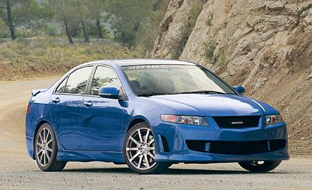 King Motorsports Unlimited 2004 Acura TSX