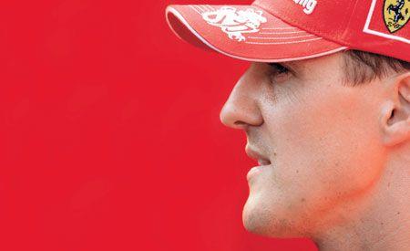 Schumacher Hears the Clock Ticking