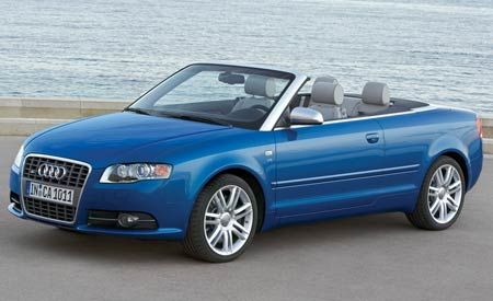 2007 Audi A4 and S4 Cabriolet