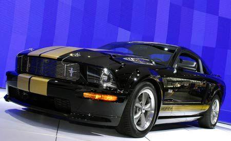 2007 Ford Mustang GT-H Hertz Racer
