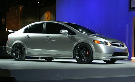 2007 Honda Civic Si Sedan Concept