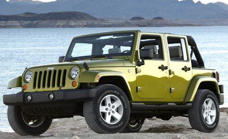 2007 Jeep Wrangler Unlimited 4-Door