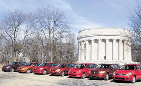 2007 Dodge Caliber vs. Honda Fit, and Five More Hatchbacks