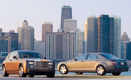 2007 Mercedes-Benz S600 vs. 2006 Rolls-Royce Phantom