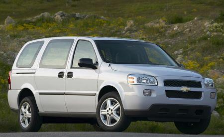 Chevrolet Venture to Uplander