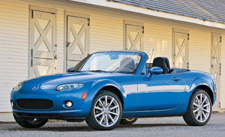 2016 mazda mx 5 miata automatic review car and driver. Black Bedroom Furniture Sets. Home Design Ideas