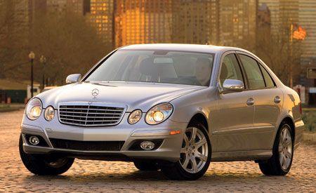 2007 Mercedes-Benz E320 BlueTec, E350, E550, and E63 AMG