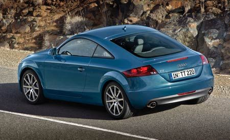 Technical Preview Review: 2008 Audi TT