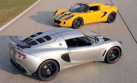 2006 Lotus Sport Elise and Sport Exige Cup