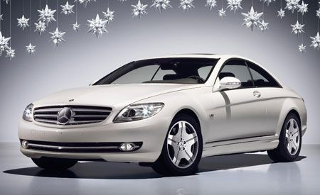 2007 Mercedes-Benz CL600 Saks Fifth Avenue Coupe Announced