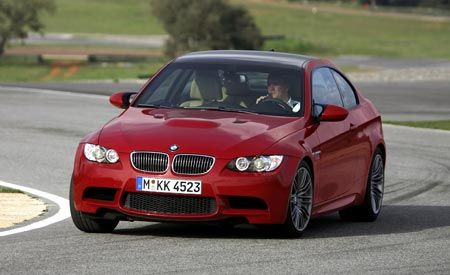 2008 BMW M3 Coupe Spied