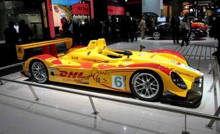 Porsche RS Spyder Le Mans Prototype