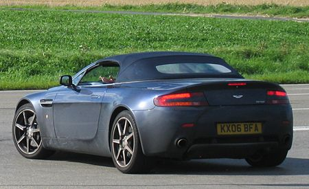2008 Aston Martin V-8 Vantage Roadster to Debut at L.A. Auto Show