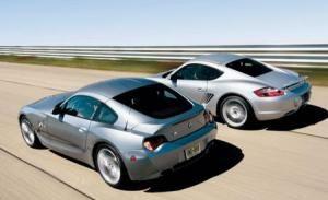 BMW Z4 M Coupe vs. Porsche Cayman S